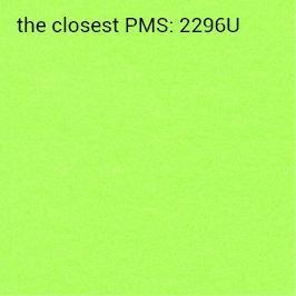 samoprzylepny intensywny zielony 70g/m2 (zalecany druk czarny)