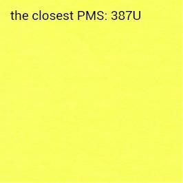 samoprzylepny intensywny żółty 70g/m2 (zalecany druk czarny)