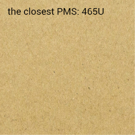samoprzylepny kraft ekologiczny 70g/m2 (zalecany druk PMS/HKS)
