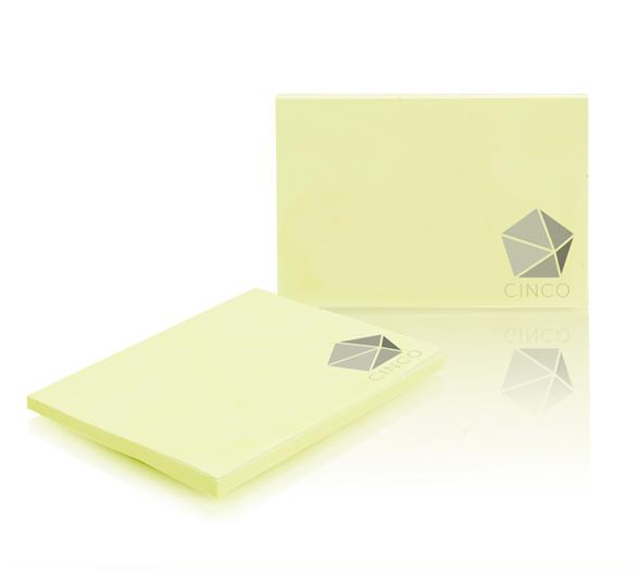 PM004-PASTEL Notes samoprzylepny pastelowy