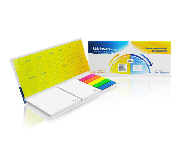 PM130 Zestaw notesów samoprzylepnych w twardej okładce