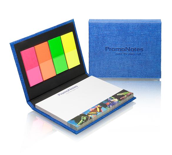 PM133-ART-PAPER Zestaw notesów samoprzylepnych w twardej okładce  ART PAPER