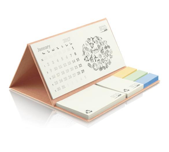PM201-KRAFT Kalendarz na twardej podstawie KRAFT