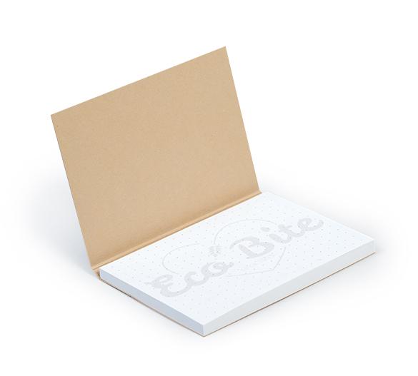 PM020-KRAFT Notes samoprzylepny w miękkiej okładce KRAFT