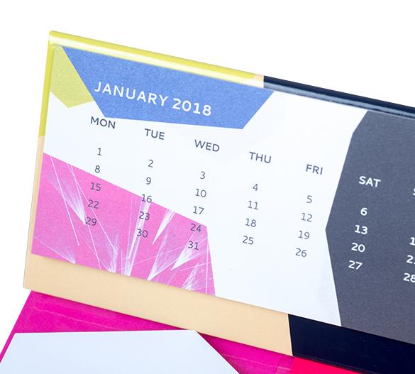 PM209b Kalendarz na twardej podstawie