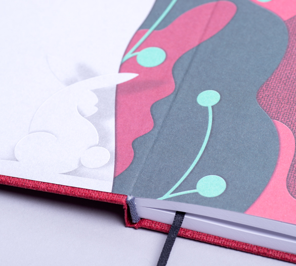 MN34 Mindnotes w twardej okładce ART PAPER