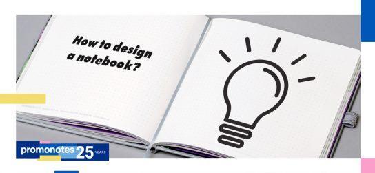 5 zasad projektowania notesu reklamowego