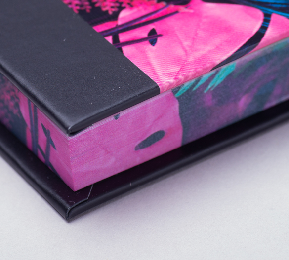 PM100-LUX Zestaw notesów samoprzylepnych w twardej okładce LUX