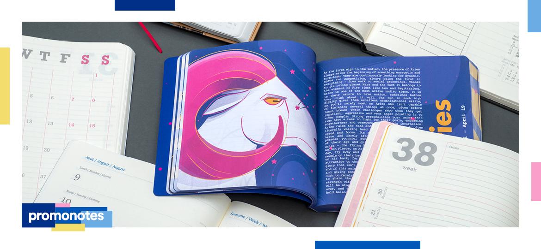 Jak pokazać swój biznes w personalizowanych kalendarzach książkowych Mindnotes®?