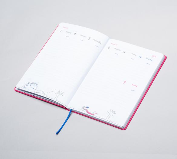 MN35-CAL-ROMA Kalendarz Mindnotes® w twardej okładce flexi ROMA